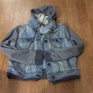 Hoodie/ jean jacket